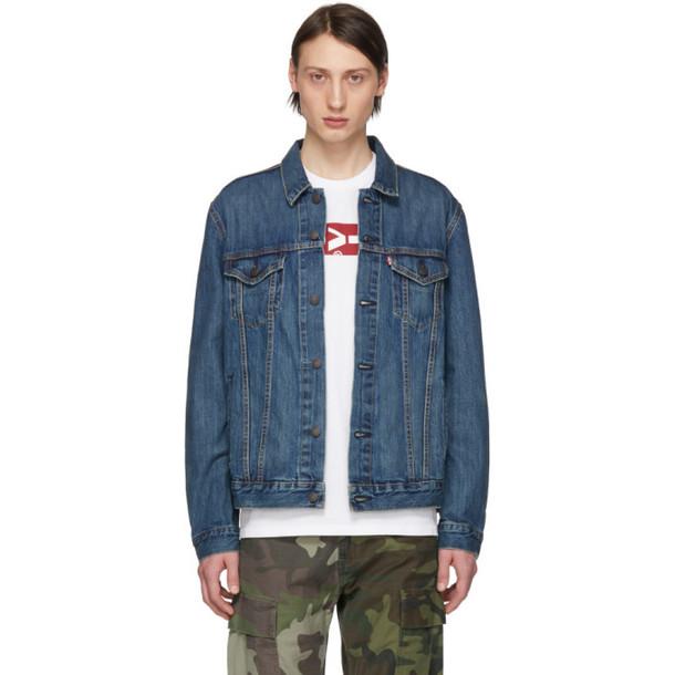 Levi's Blue Trucker Jacket