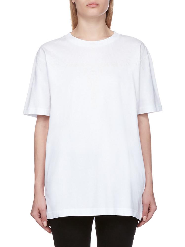 Marcelo Burlon Oversized T-shirt in bianco