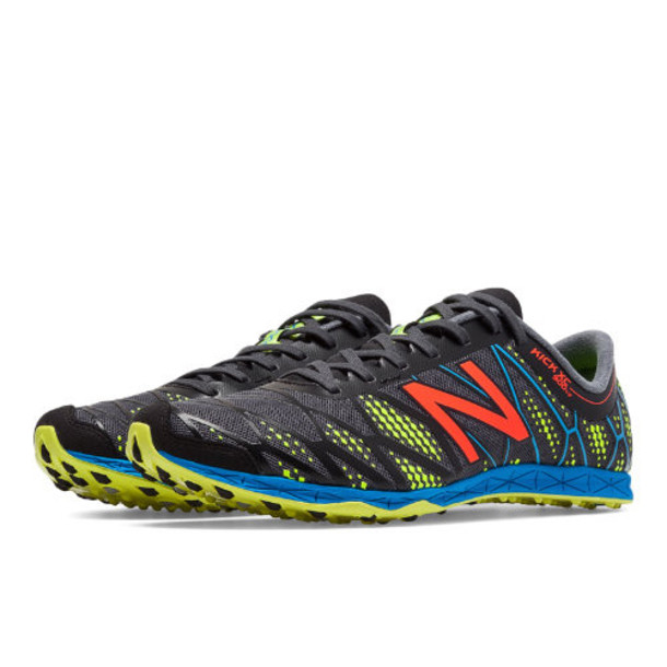 New Balance XC900v2 Spikeless Men's Cross Country Shoes - Black/Yellow (MXC900GR)