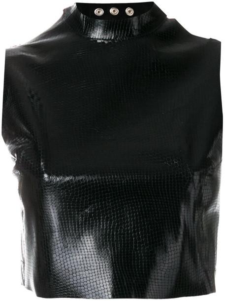 Manokhi Carrie tank top in black