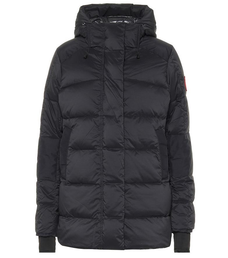 Canada Goose Alliston down jacket in black