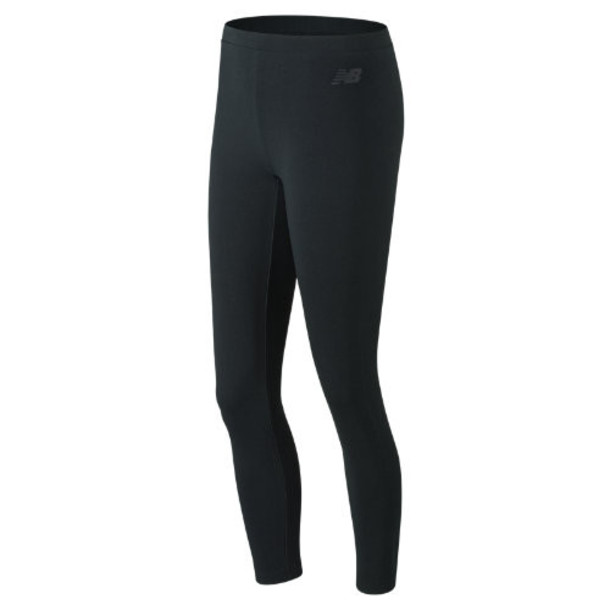 New Balance 91513 Women's Essentials Aqua Camo Legging - Black (WP91513BK)