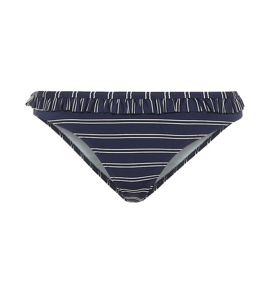 Solid & Striped The Millie bikini bottoms in blue