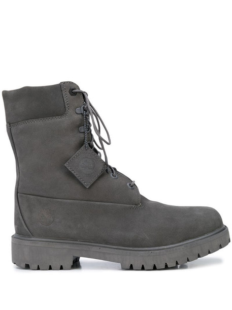 Timberland ankle lace-up boots in grey