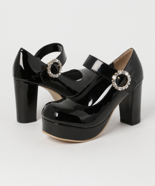 shoes lolita shoes pumps strappy heels