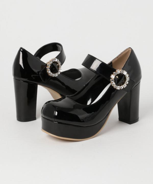 shoes lolita shoes pumps strappy heels