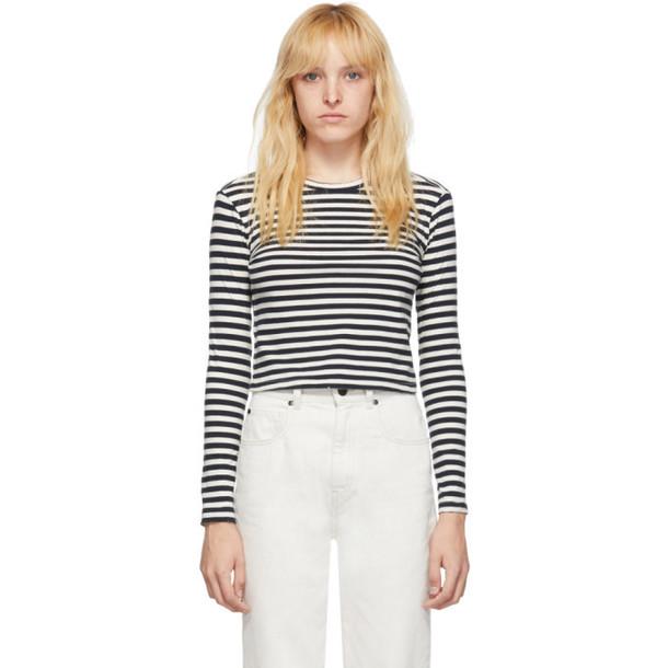 Amo Black and White Babe Long Sleeve T-Shirt