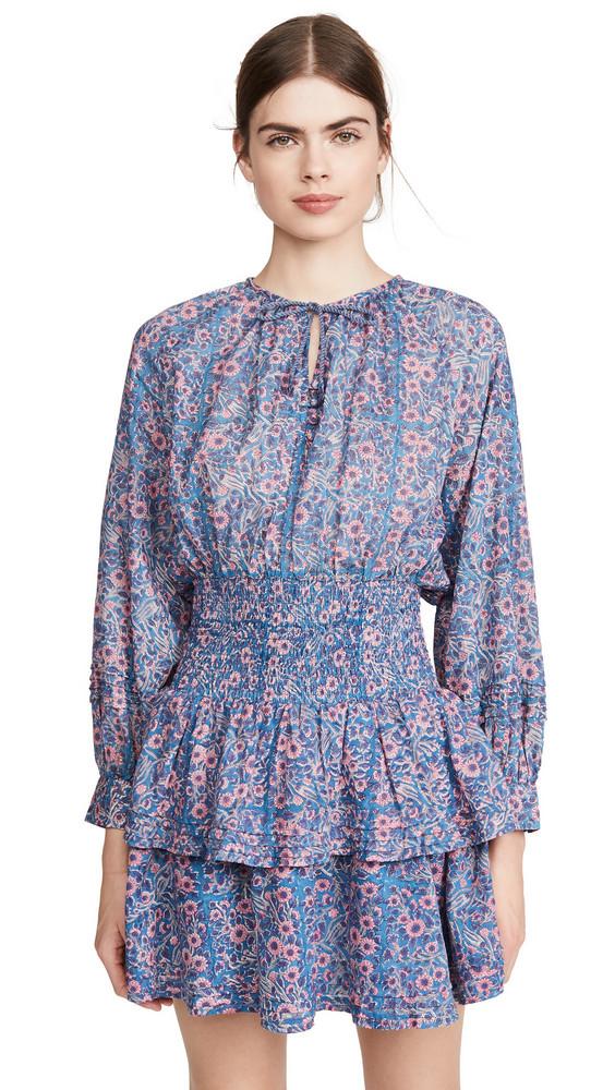 Cleobella Bianca Mini Dress in rose