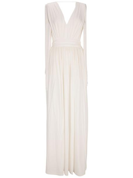 Alberta Ferretti Dress in white