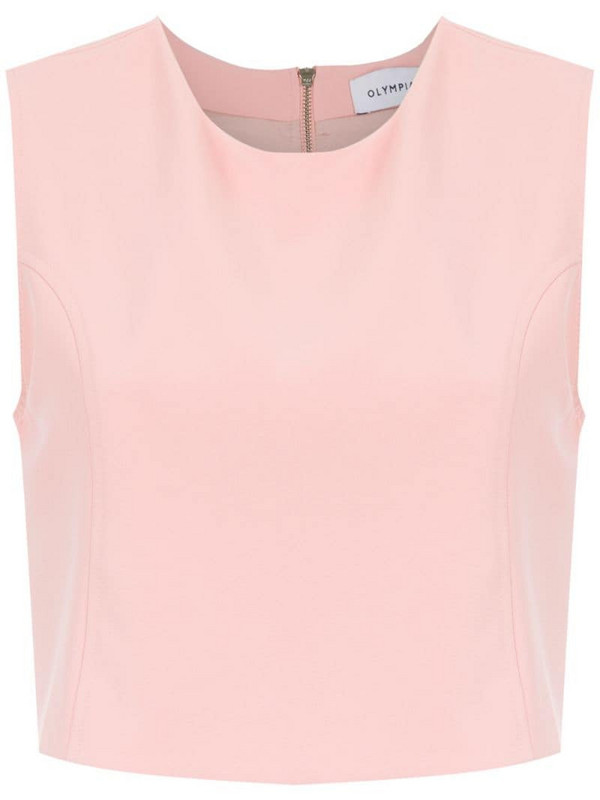 Olympiah Spezzia cropped top in pink