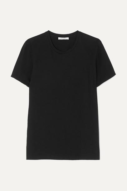 NINETY PERCENT - + Net Sustain Jenna Organic Cotton-jersey T-shirt - Black