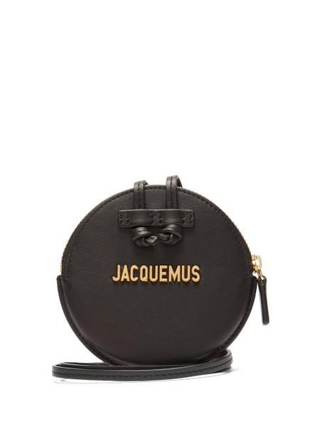 Jacquemus - Le Pitchou Leather Coin Purse - Womens - Black