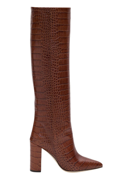 Paris Texas Moc Croc Boots