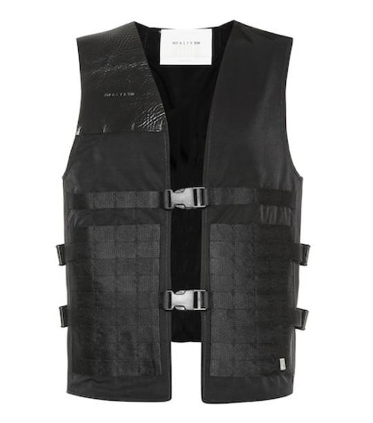 1017 ALYX 9SM Trooper cotton-blend vest in black