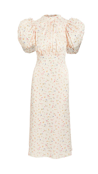 ROTATE Dawn Dress in peach
