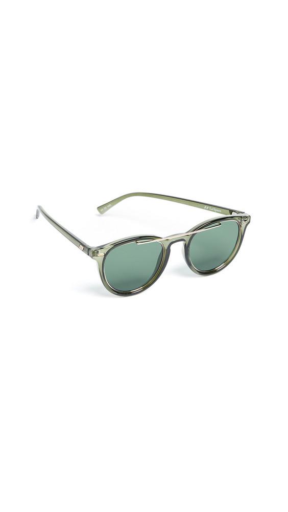 Le Specs Fire Starter Sunglasses in green