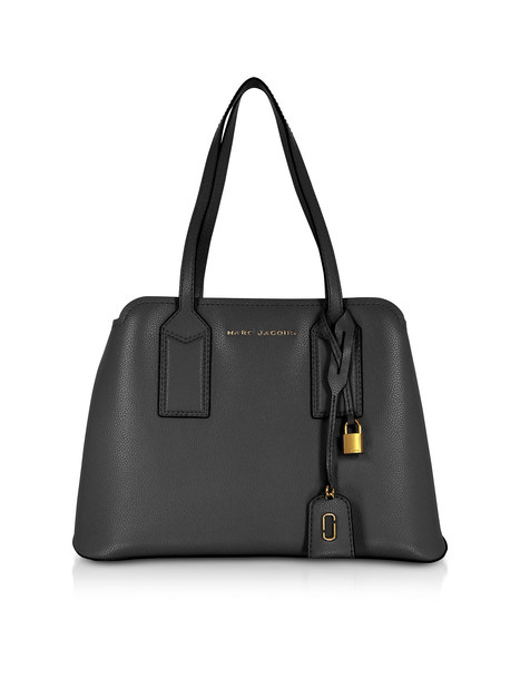 Marc Jacobs The Editor Leather Tote Bag in black