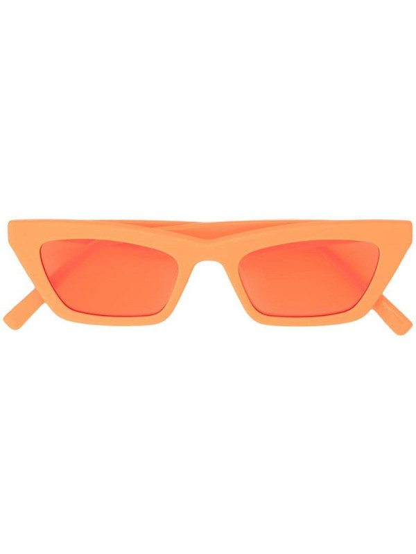 Gentle Monster Chapssal OR1 sunglasses in orange