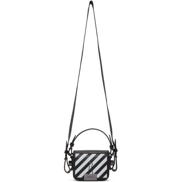 Off-White Black Baby Flap Crossbody Bag