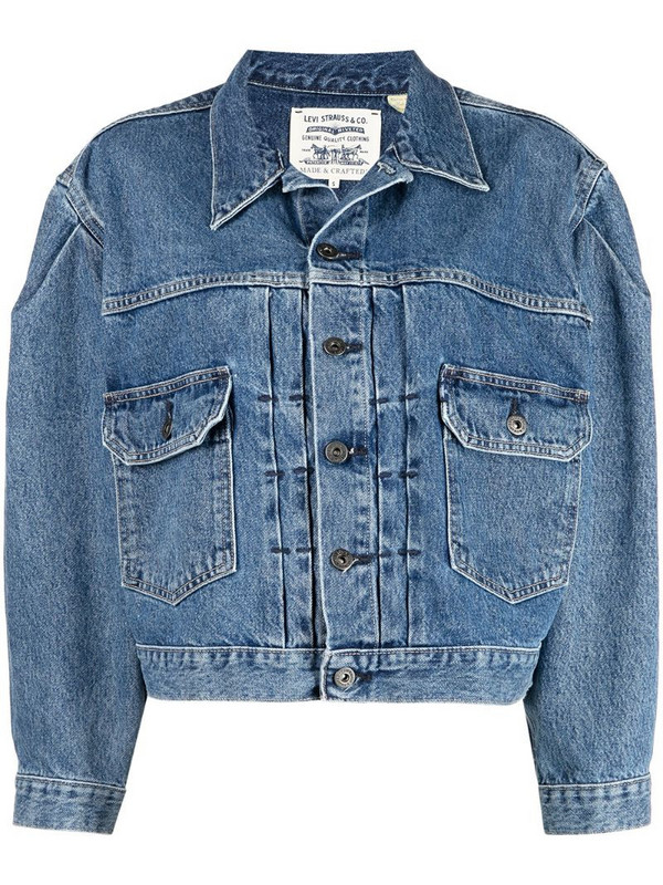 Levi's: Made & Crafted Type II denim trucker jacket in blue
