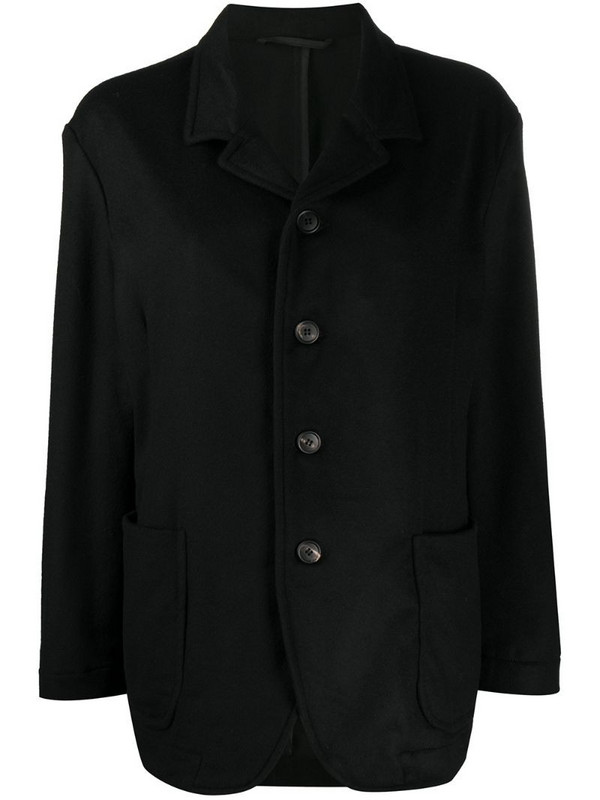 Casey Casey single-breasted fitted jacket in black