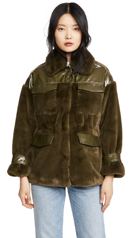 Apparis Lucile Jacket in green