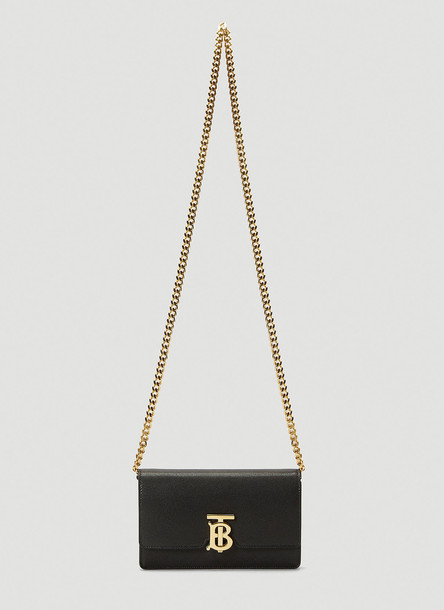 Burberry Carrie Shoulder Bag in Black size One Size