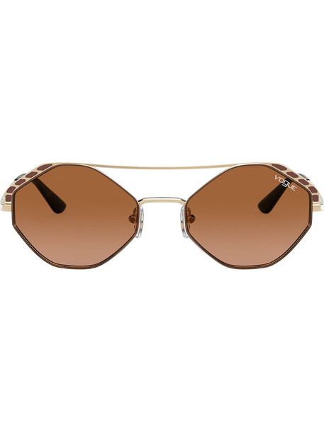 Vogue Eyewear round frame sunglasses in brown