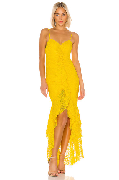 NBD Rosaleen Gown in yellow
