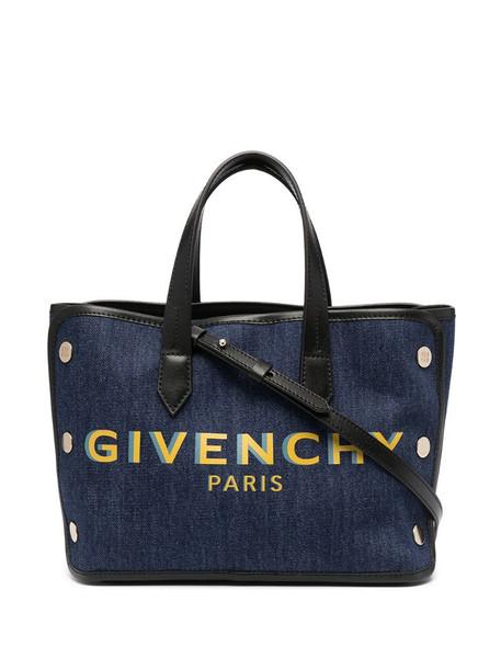Givenchy medium Bond denim shopper in blue
