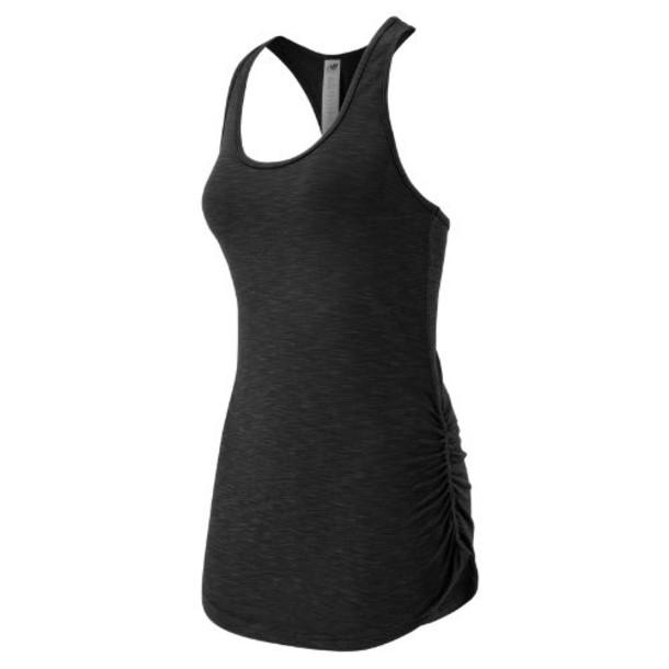 New Balance 53124 Women's Fashion Tank - Black Heather (WT53124BKH)