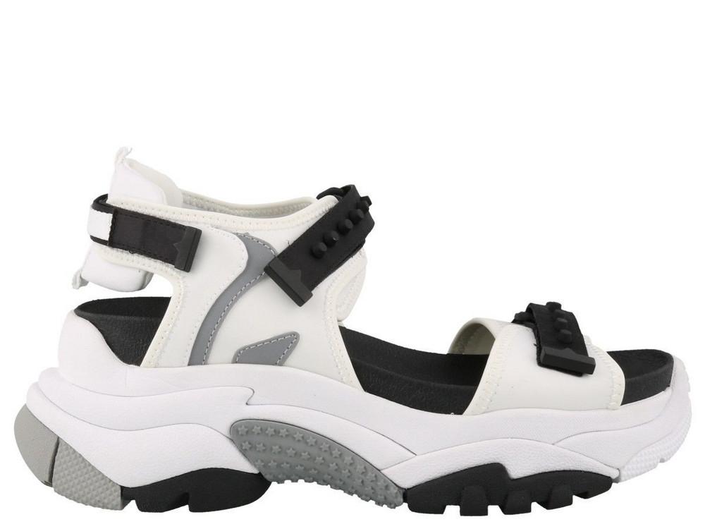 Ash Adapt Sandals in white