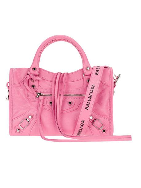 Balenciaga Mini Classic City Bag in pink