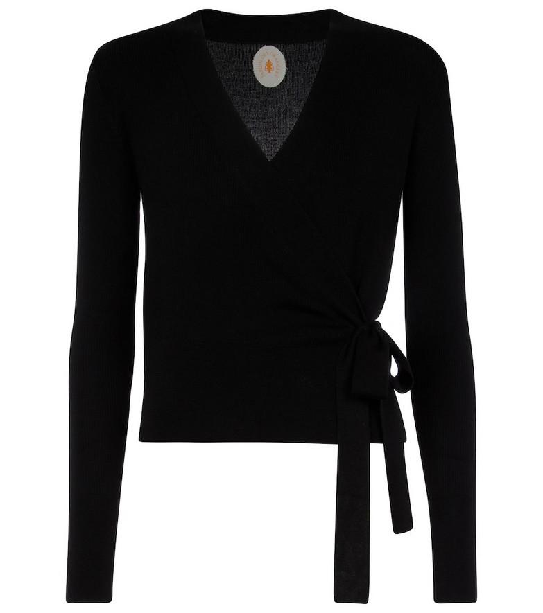 Jardin des Orangers Wool cardigan in black