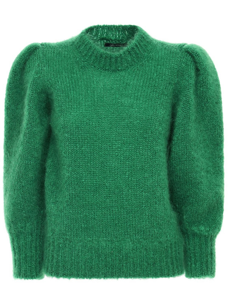 ISABEL MARANT Emma Mohair Blend Sweater in green