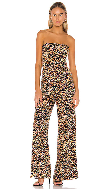 LIKELY Emile Jumpsuit in Brown