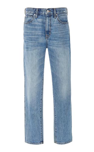 SLVRLAKE Virginia Mid-Rise Straight-Leg Jeans Size: 26