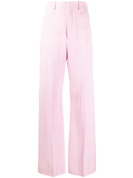 Jacquemus Sauge tailored trousers in pink
