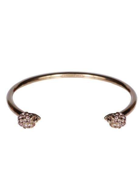 Alexander McQueen Thin Skull Bracelet in multi