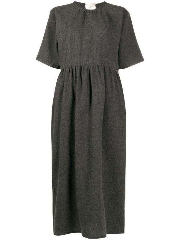 Sofie D'hoore short-sleeve dress in grey