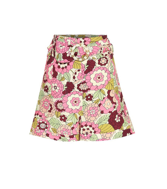 Dodo Bar Or Floral shorts in pink