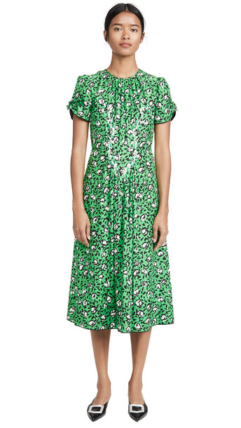 Marc Jacobs The 40s Dress in green / multi