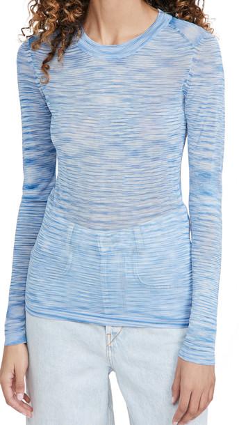 Isabel Marant Etoile Anita Pullover in blue
