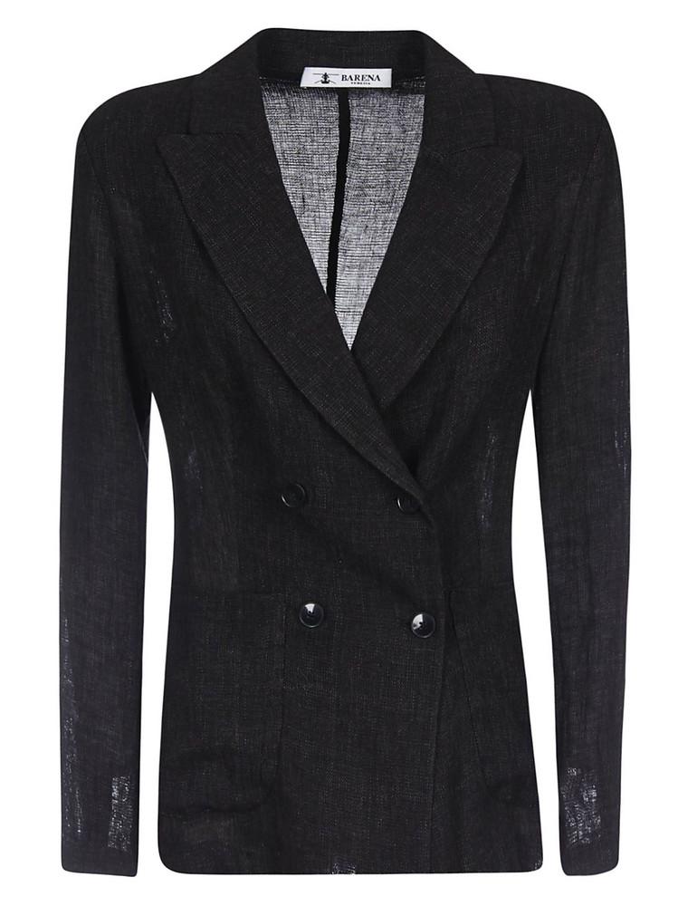 Barena Double Breasted Blazer in black
