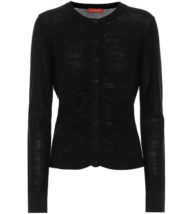 Altuzarra Narumi merino-wool cardigan in black