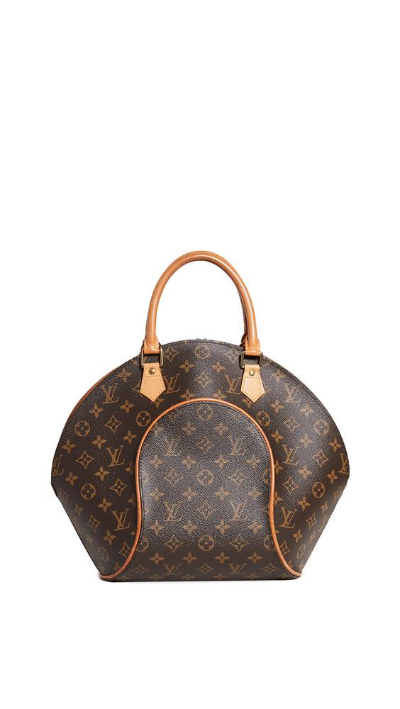 What Goes Around Comes Around Louis Vuitton Monogram Ab Ellipse MM Bag in brown