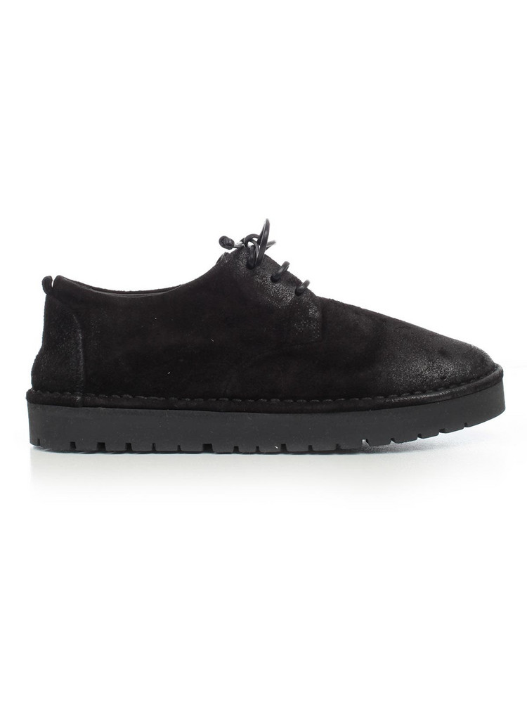 Marsell Shoes W/lace W/rubber Sole in nero