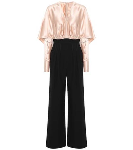 Roksanda Ellia silk-blend jumpsuit in black