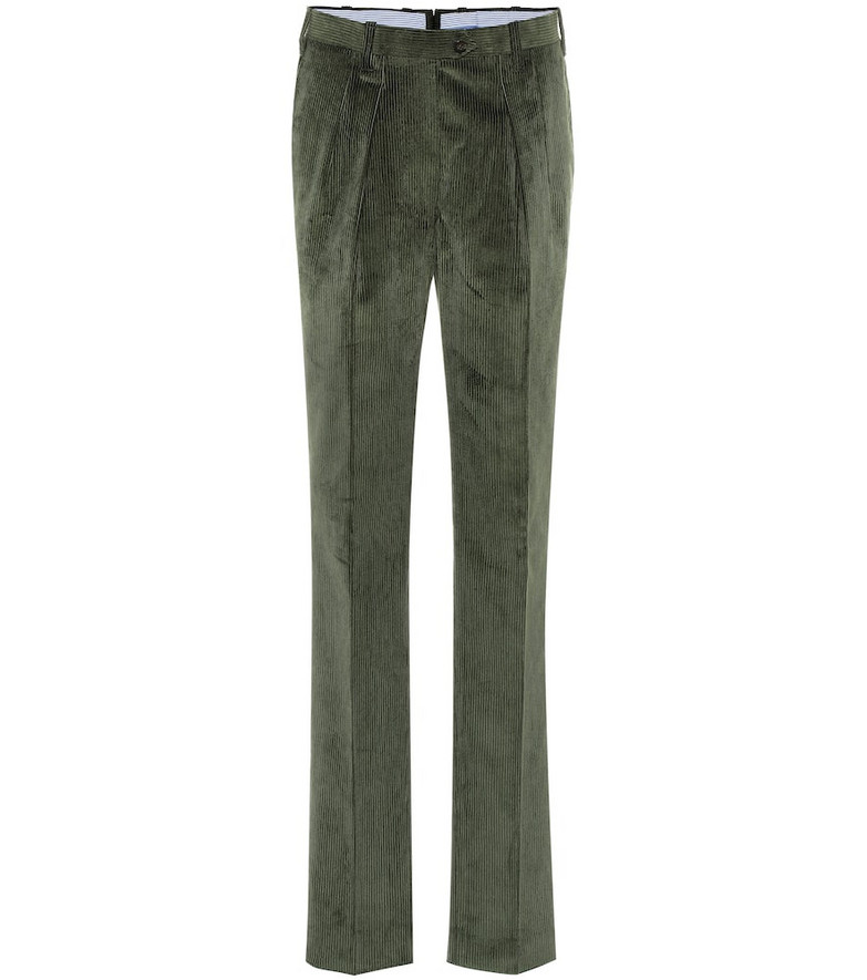 Giuliva Heritage Collection The Husband corduroy pants in green