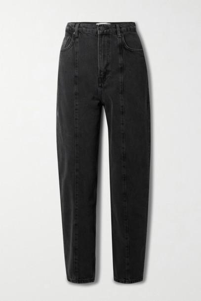 Reformation - Kris High-rise Slim-leg Jeans - Black